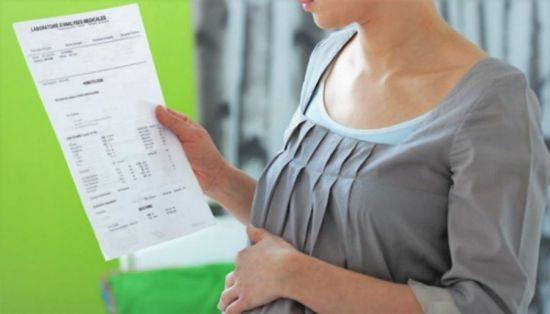 Результати аналізів при вагітності