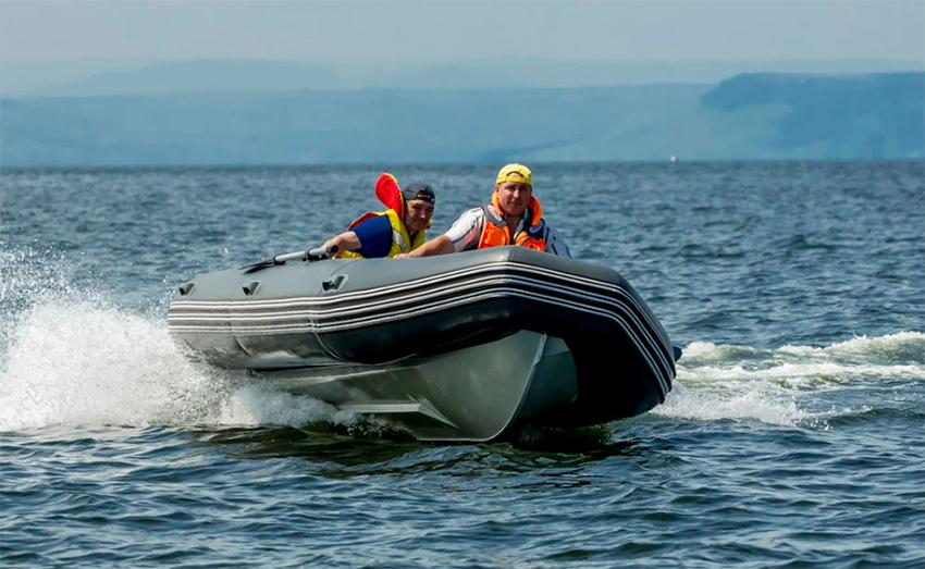 RIB – лодка с алюминиевым дном