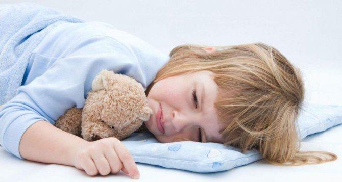 Блювота у дитини після сну