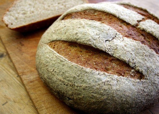 Житній хліб дієтичний