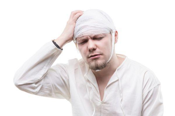 серйозна травма голови
