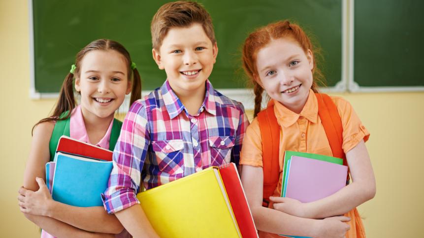 Щасливі діти приватної школи