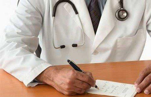 Схема лікування виразки