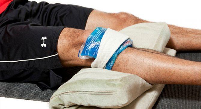 Сильний удар колінної чашечки при падінні лікування в домашніх умовах