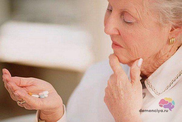 Симптоматичні препарати для лікування деменції