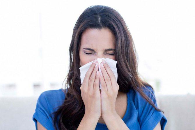 Симптоми алергії