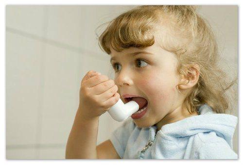 Симптоми астми.