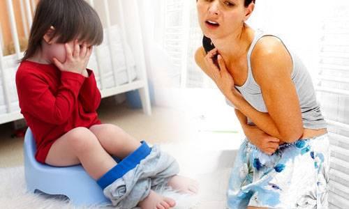 Симптоми ентероколіту у дорослих і дітей