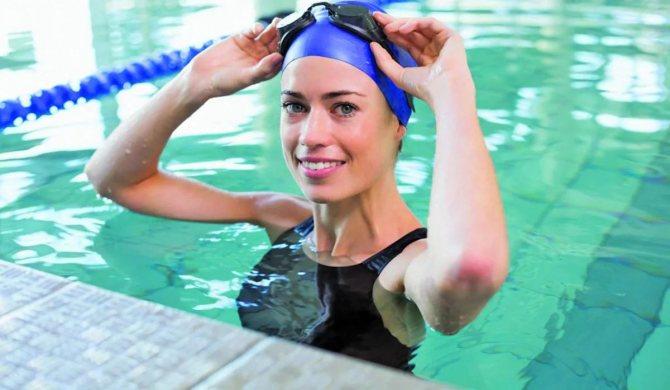 симптоми цієї патології можуть проявитися при відвідуванні громадських бань або басейнів