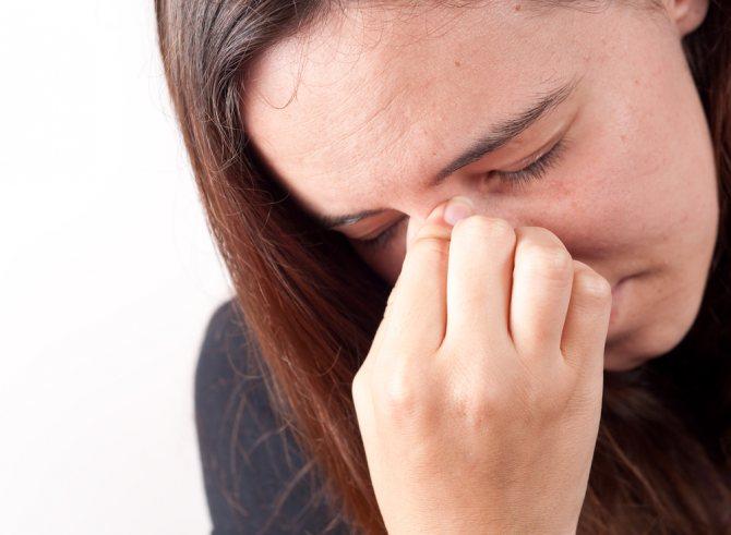 Симптоми хронічного поліпозно риносинуситу