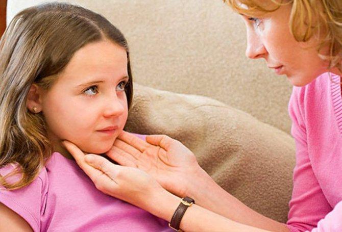 Симптоми ларінгіту у дітей
