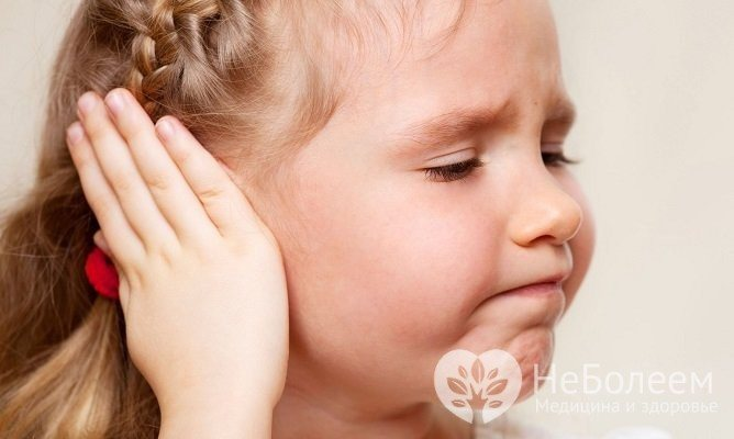 Симптоми гострого отиту у дітей