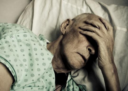 Симптоми набряку легенів у лежачих хворих