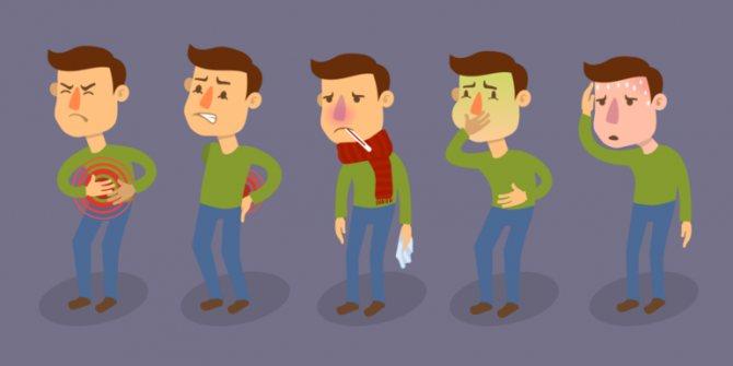 Симптоми отруєння при прийомі Кларитроміцину