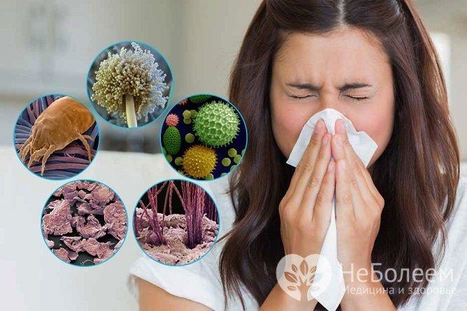 Синусит алергічної етіології НЕ є небезпечний для оточуючіх