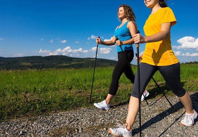 Скандинавська ходьба для початківців