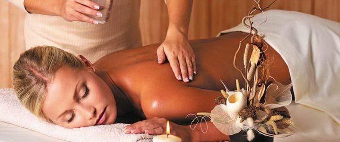 Знімаємо стрес масаж