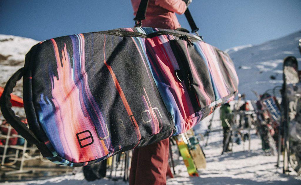 Мягкий чехол для горных лыж и сноуборда (на плечо)