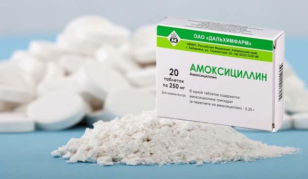 Склад таблеток Амоксициллин