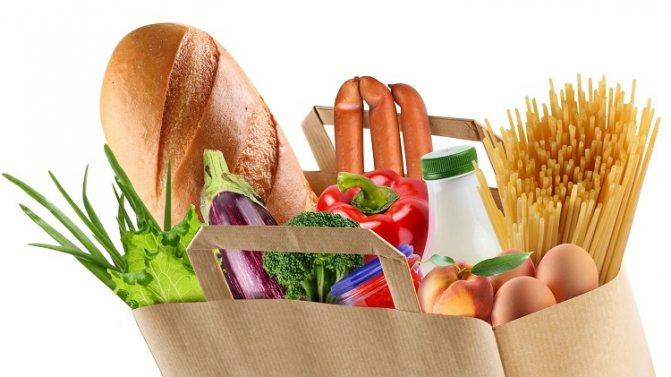 Список дозволених продуктів для дієти стіл номер 9