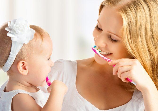 Спосіб № 1. Правильна чистка зубів і мови