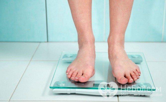 Стабілізація ваги при дотриманні дієти - ознака гіпоглікемії