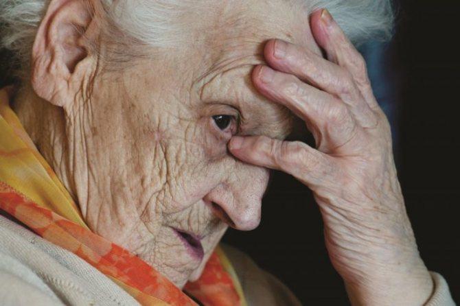 стареча астенія