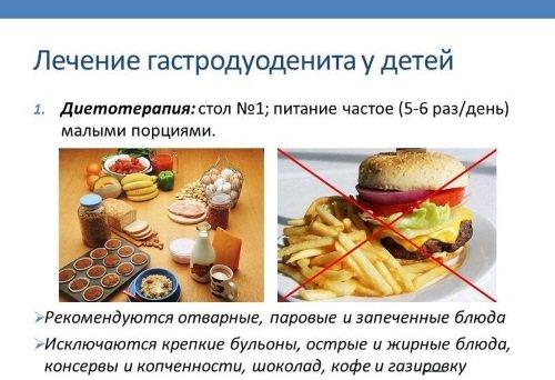 Стіл 1 - дієта, меню на тиждень, кожен день.  Рецепти, таблиця продуктів, что можна, что нельзя, як готувати