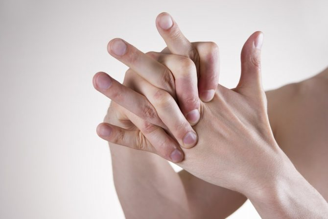 судоми пальців