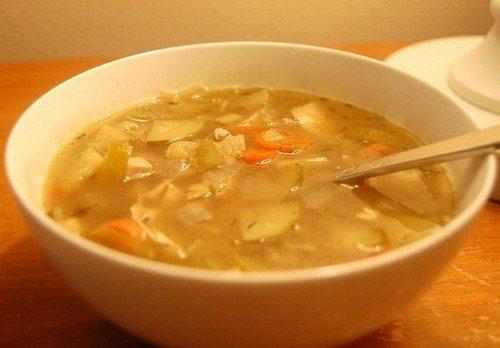 Суп з картоплі для поліпшення травлення