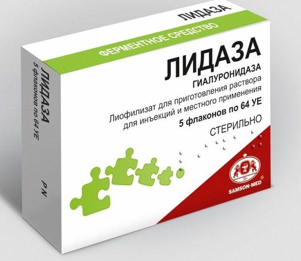 Властивості препарату Лидаза