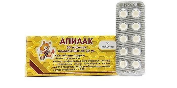 таблетки Апілак