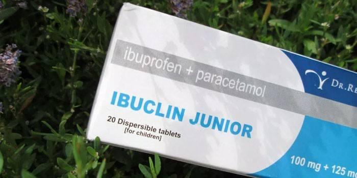 Таблетки Ібуклін Джуніор в упаковці