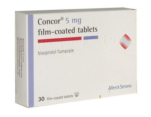 таблетки Конкор кор від чого