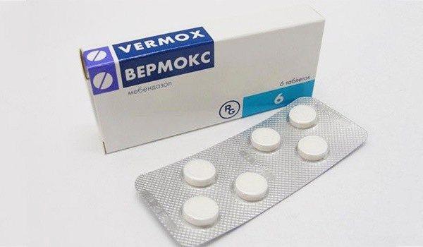 Таблетки Вермокс - інструкція із застосування