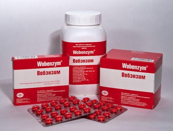 таблетки Вобензим