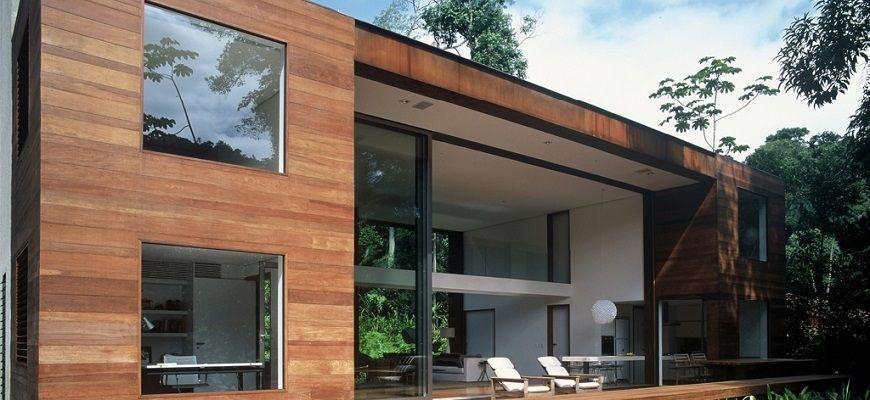 Фасадная термодоска: внешний вид здания