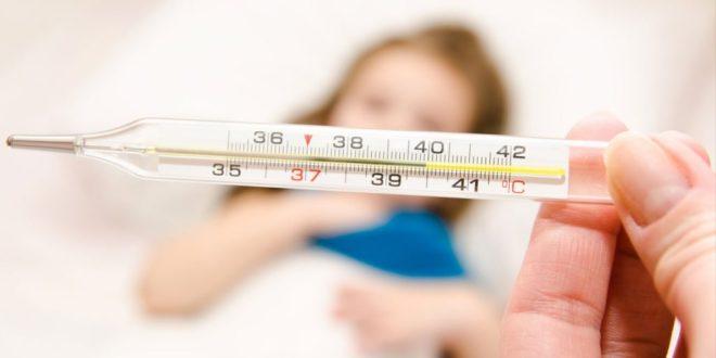 температура в дівчинки