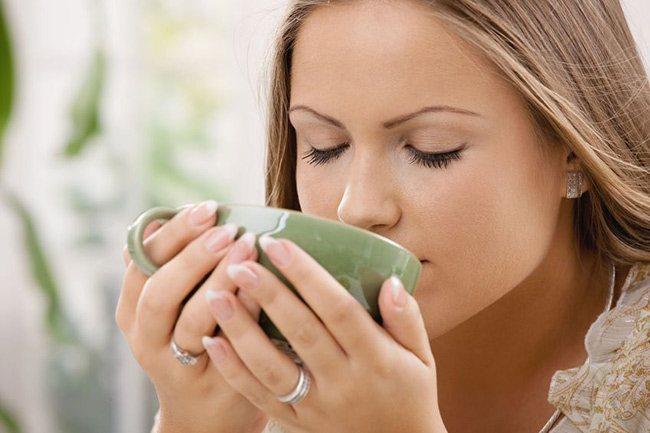 Тепле пиття при кашлі