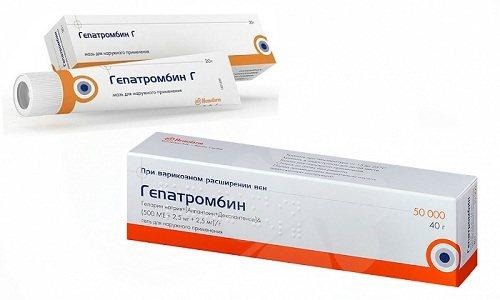 Терапія варикозу і геморою передбачає використання Гепатромбина або Гепатромбина Г