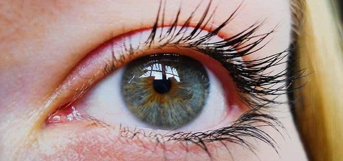 Тканини очі покриті слізної плівкою