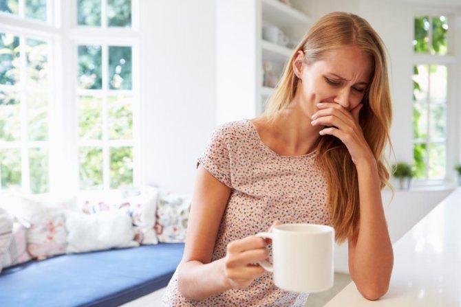 Нудота після прийому антибіотика