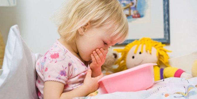 Нудота у дитини