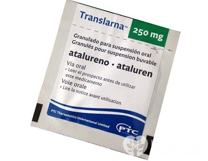 Трансларна - препарат, що застосовується в лікуванні міопатії Дюшенна