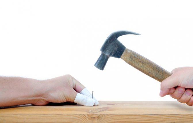 травма пальця
