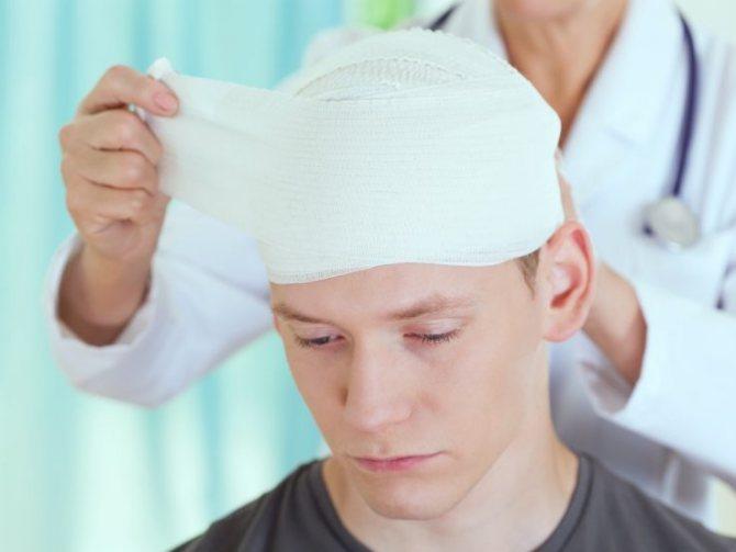 травматична енцефалопатія