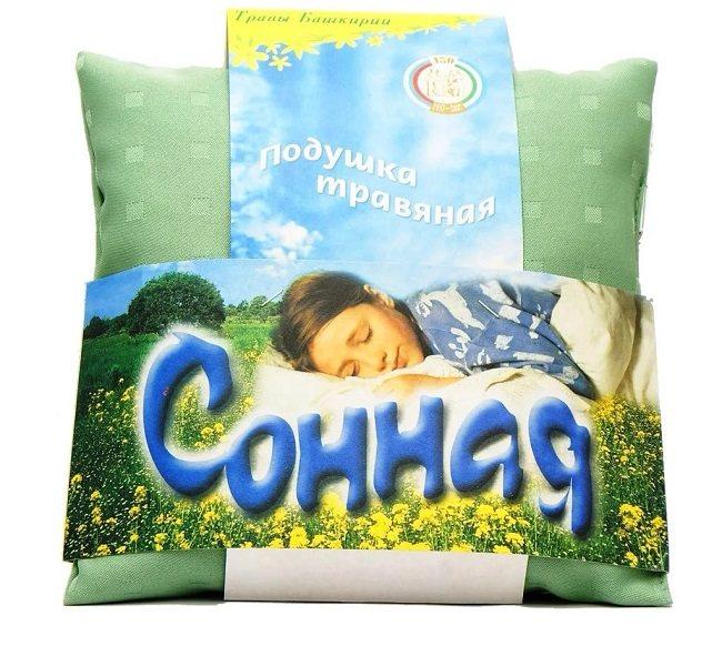 трав'яна подушка