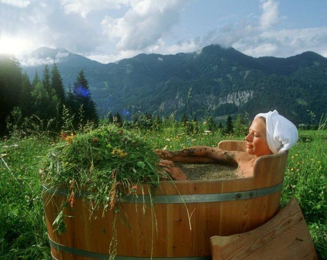 трав'яна ванна