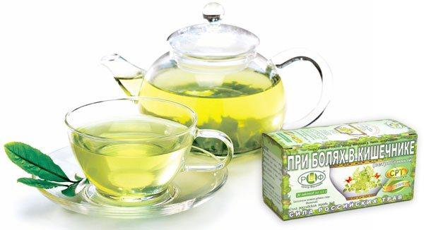 трав'яний чай від болю в животі