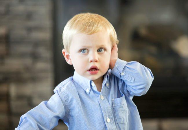 туговухість 1 ступенів у дитини